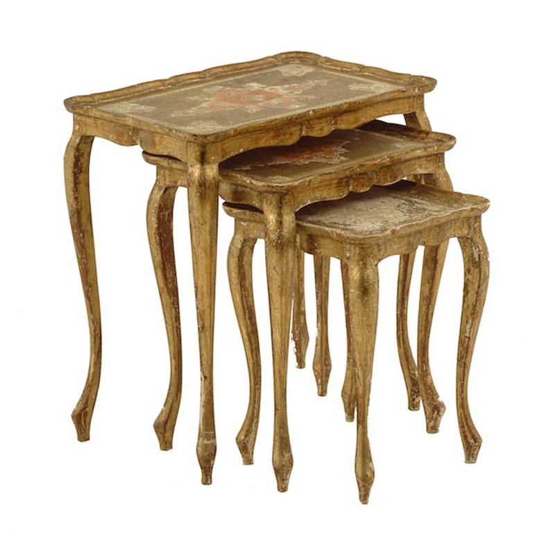 Patrick Gold Nesting Tables (set of 3)