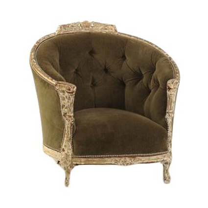Queen Mary Green Chair