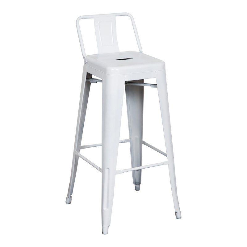 Riverdale White Bar Stools
