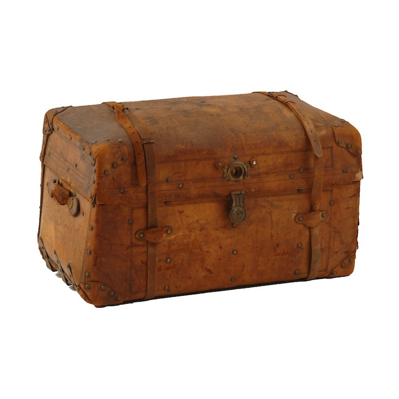 Sayer Leather Trunk