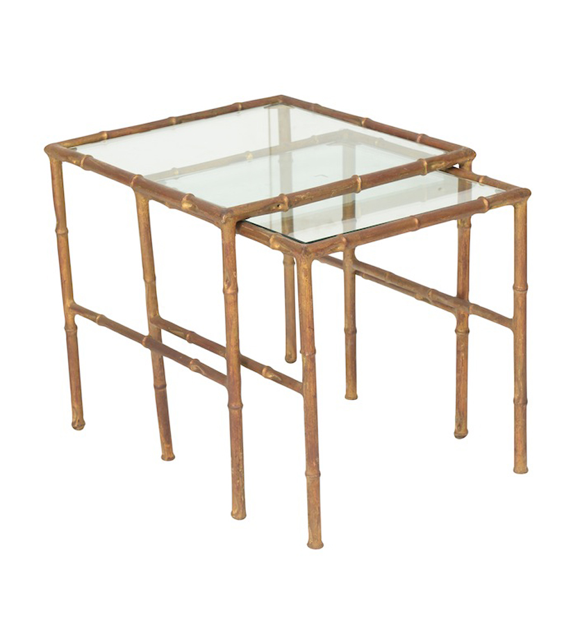 Tino Brass Nesting Tables