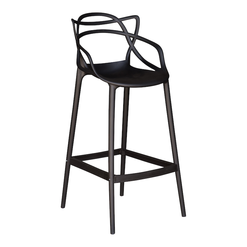 Arlo Black Bar Stools