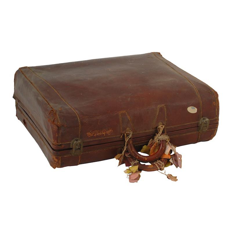 Jeremy Leather Suitcase