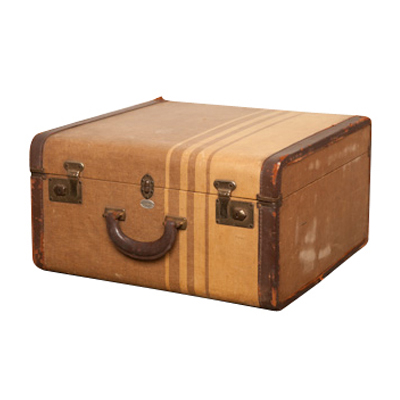 Pearson Brown Suitcase