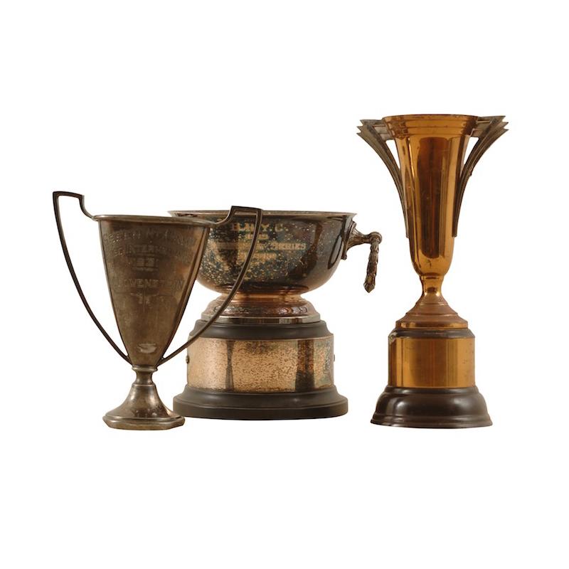 Savoy Vintage Trophies (set of 3)