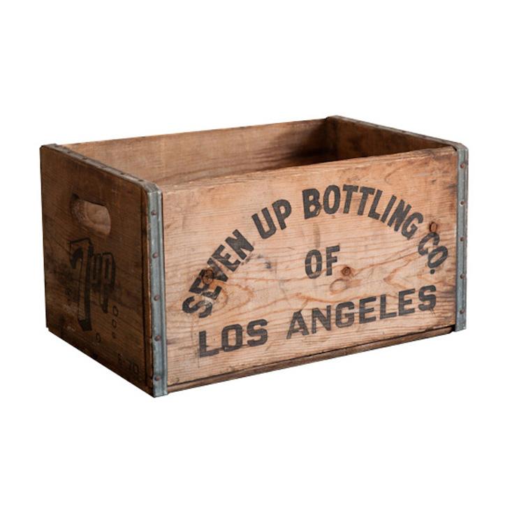 Seven-Up Bottling Crates