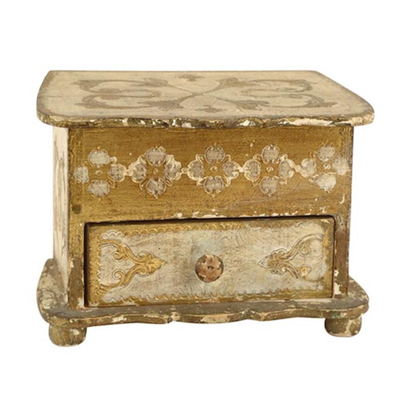 Summer Vintage Jewelry Box