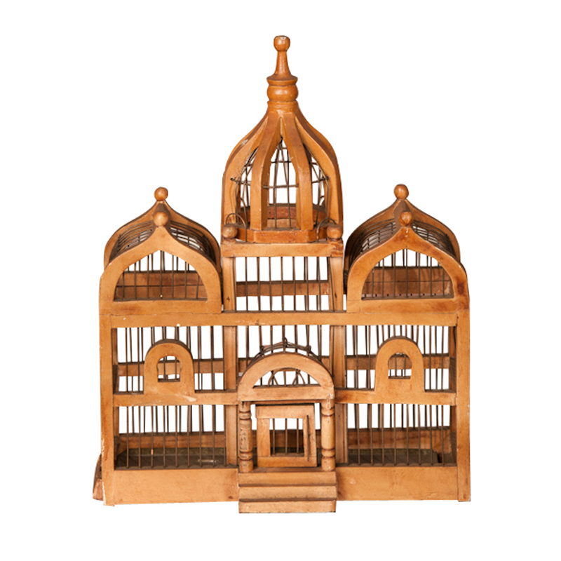Talmadge Wooden Birdcage