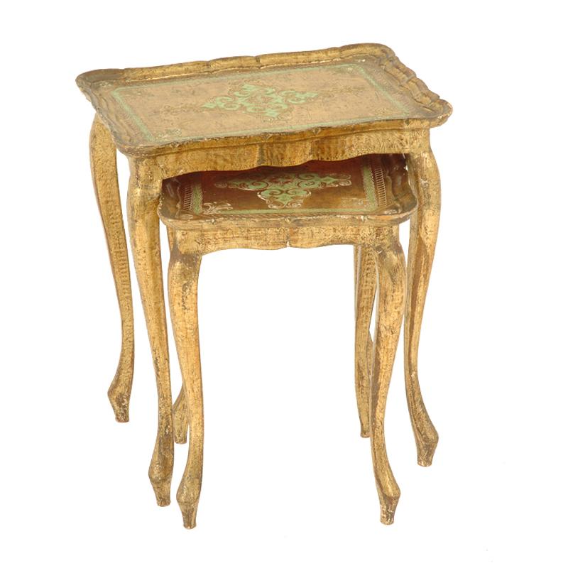 Truman Gold Nesting Tables (pair)