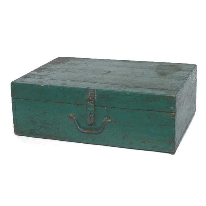 Waverly Green Wooden Box