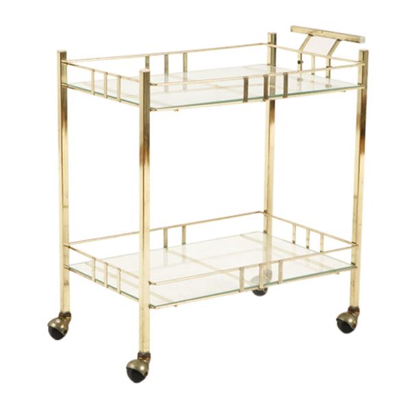 Glidewell Brass Cart