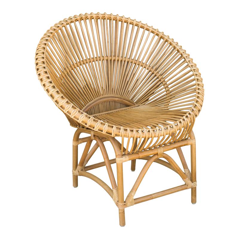 Livia Rattan Chairs