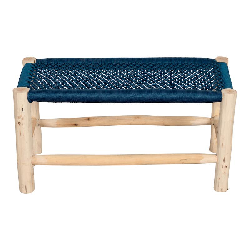 Fez Blue Bench
