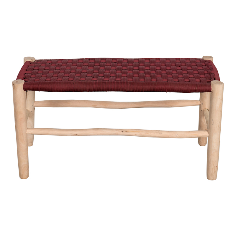 Fez Red Bench