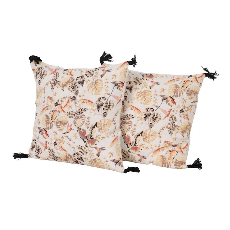 Samira Blanc Pillows (pair)