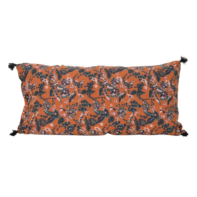 Samira Oversized Paprika Pillows
