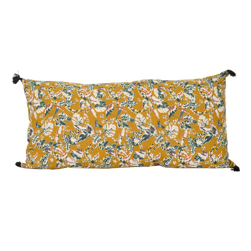 Samira Oversized Safran Pillows