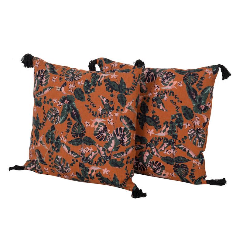 Samira Paprika Pillows (pair)