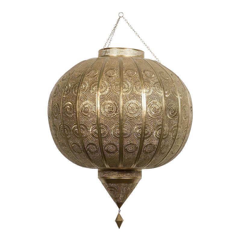 Brylee Grande Gold Lanterns