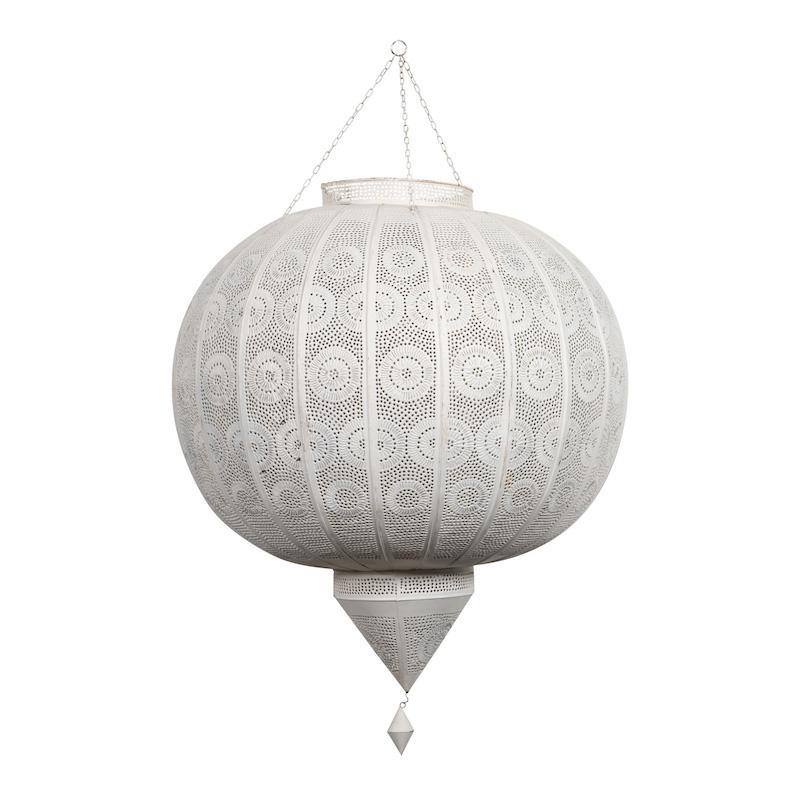 Brylee Grande White Lanterns