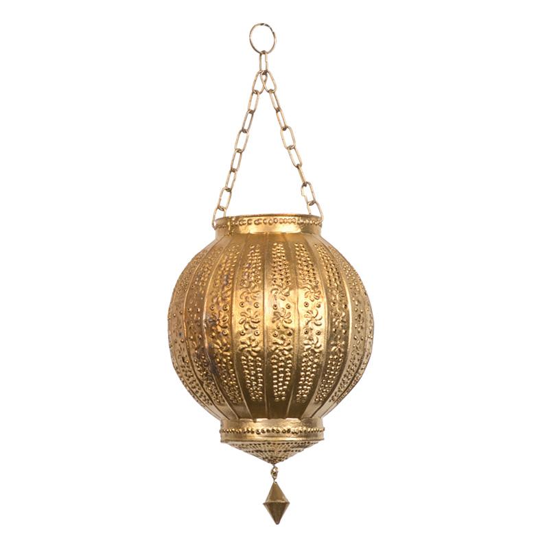 Brylee Mini Gold Lanterns