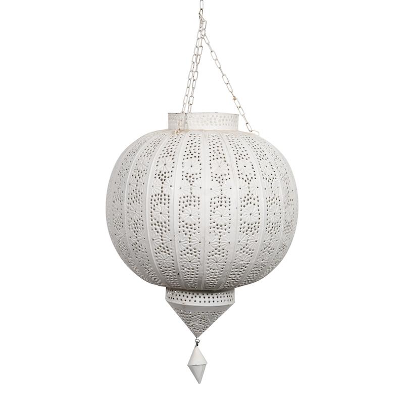 Brylee Petite White Lanterns