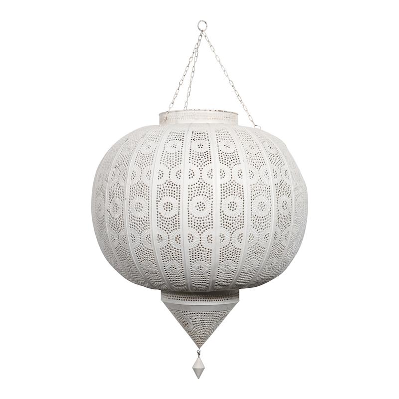Brylee White Lanterns