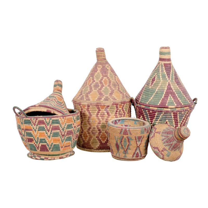 Hasina Baskets (set of 4)