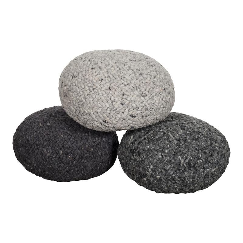 Jeffrey Petite Grey Cushions
