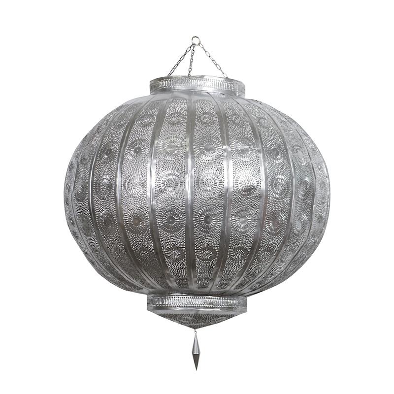 Brylee Grande Silver Lanterns