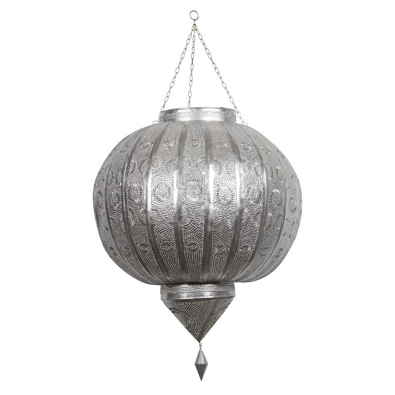 Brylee Silver Lanterns