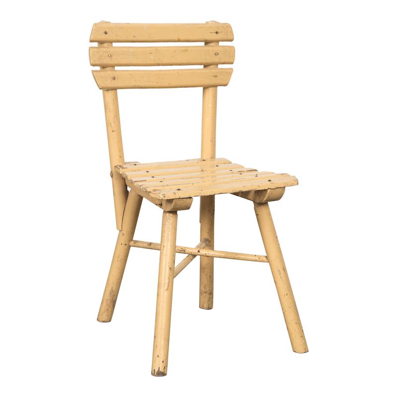 Johnny Yellow Child Chairs