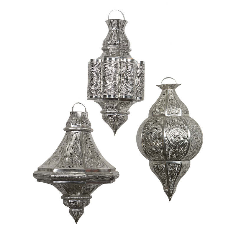 Ness Silver Lanterns