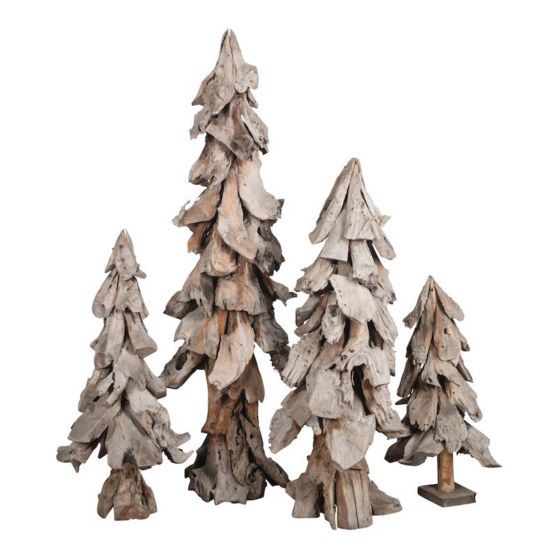 Winter Trees (set of 4)