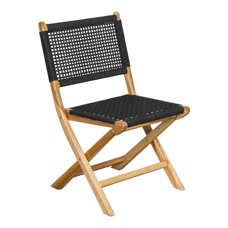 Candice Black Folding Chairs
