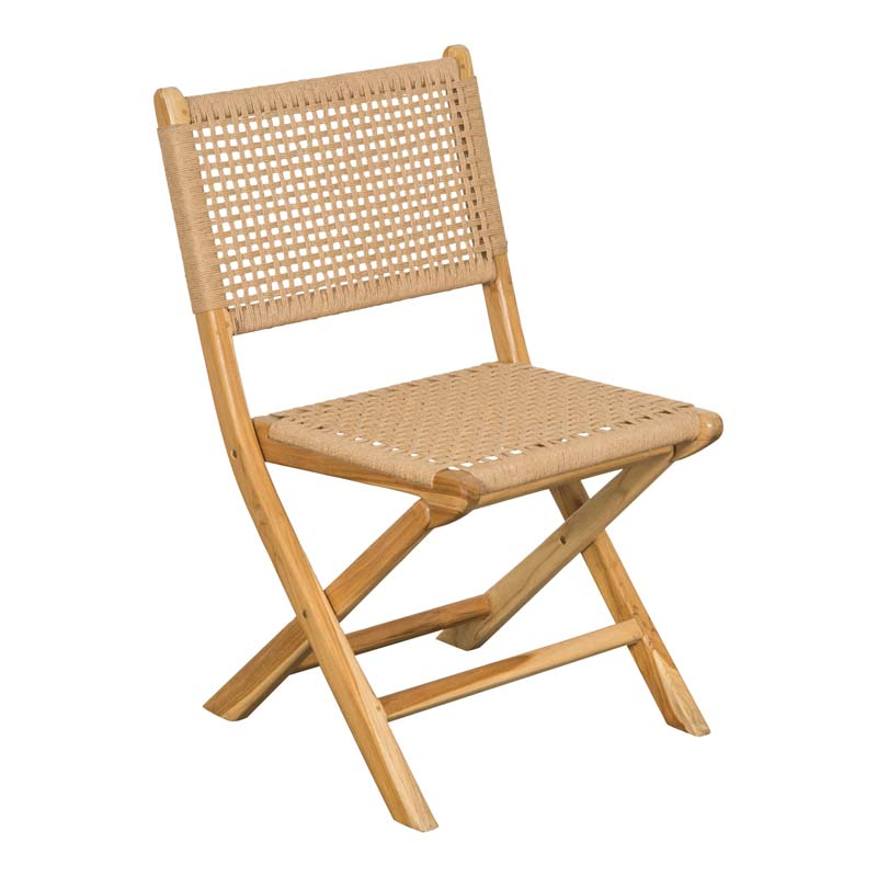 Candice Neutral Folding Chairs