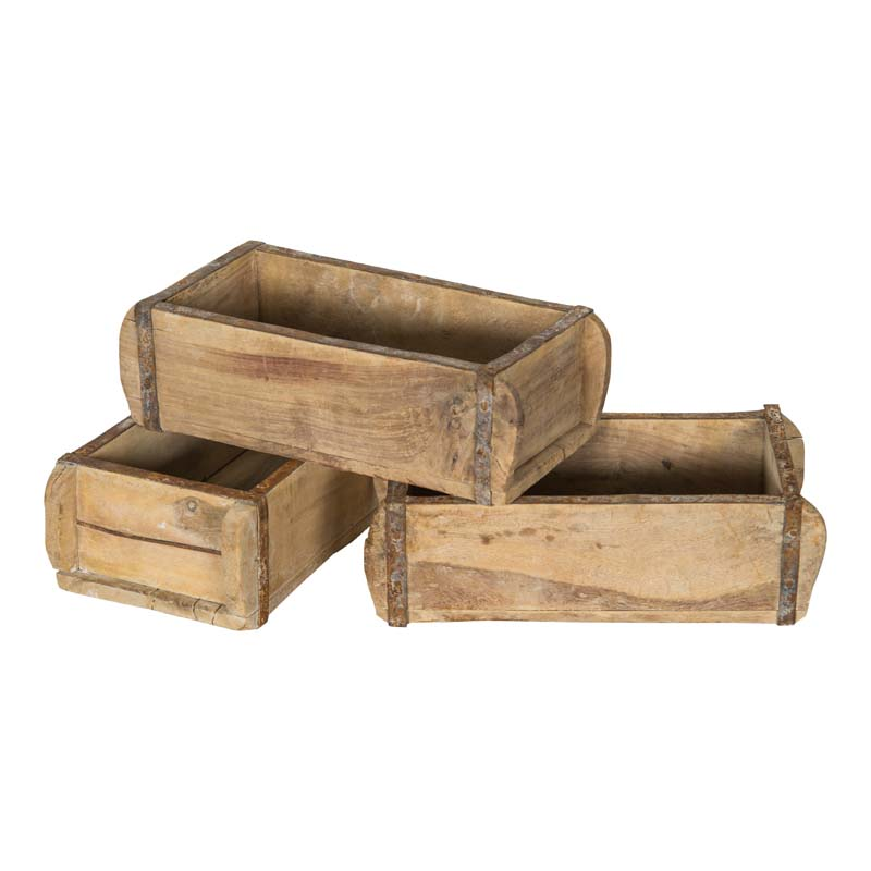 Davis Wooden Boxes (set of 3)
