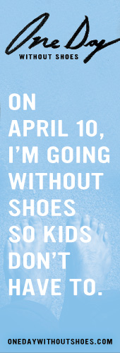 A Day Without Shoes…
